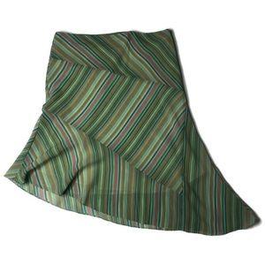 New York & Company Lined Asymmetrical Skirt